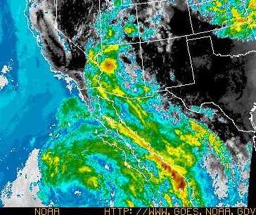 NOAA GOES image WCI 17